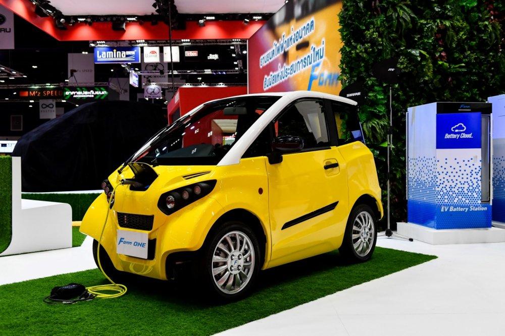 Chi tiết xe FOMM One lội nước ra mắt tại Bangkok Motor Show 20193aa