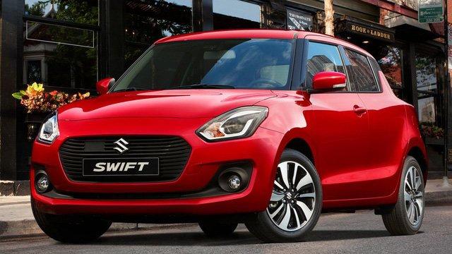Suzuki Swift đời 2018 màu đỏ