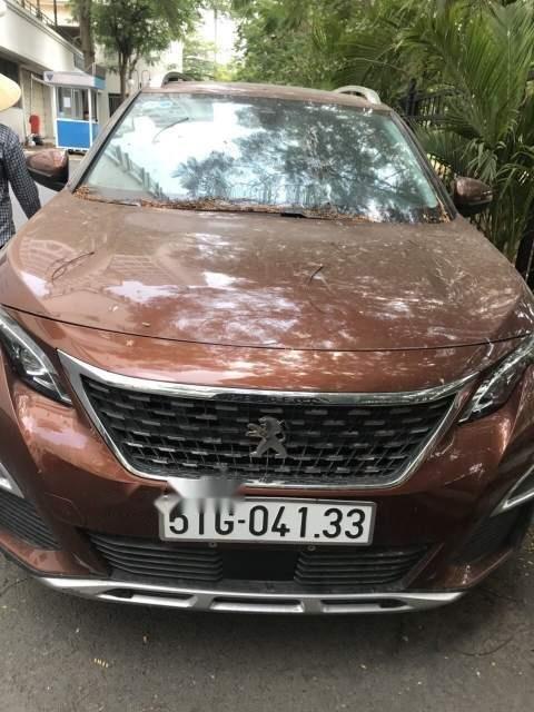 Cần bán xe Peugeot 3008 2018, màu nâu (1)