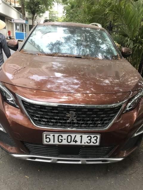 Cần bán xe Peugeot 3008 2018, màu nâu-3