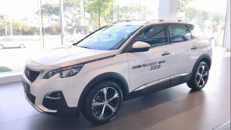 Cần bán xe Peugeot 3008 2019, màu trắng (1)