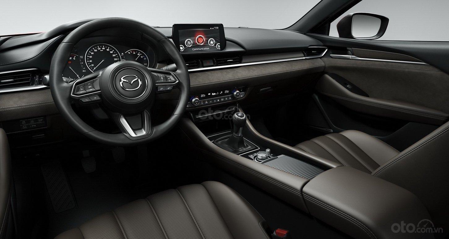 Mazda 6 2019 tích hợp nhiều công nghệ bổ trợ tiên tiến
