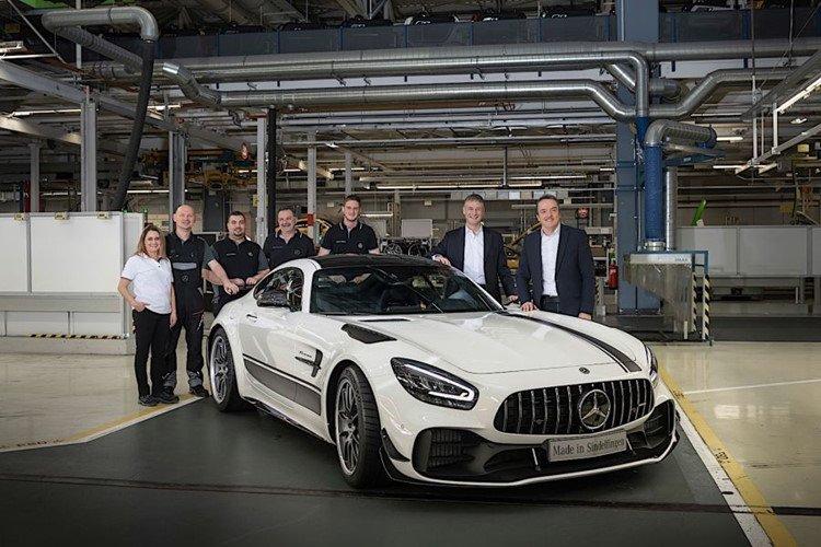 Mercedes-AMG GT 2020 bắt đầu đi vào sản xuất tại Mỹ 14