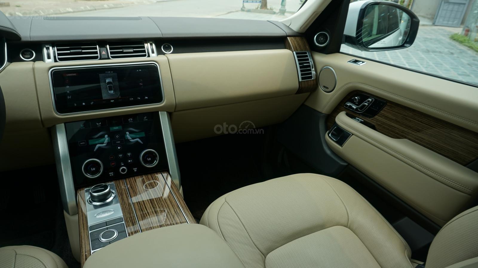 Cần bán xe LandRover Range Rover HSE năm 2019, màu trắng, xe nhập-23