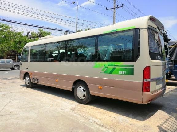 Xe khách Hyundai County 29 chỗ, khuyến mãi 30tr + vàng 9999 may mắn, hỗ trợ trả góp-4