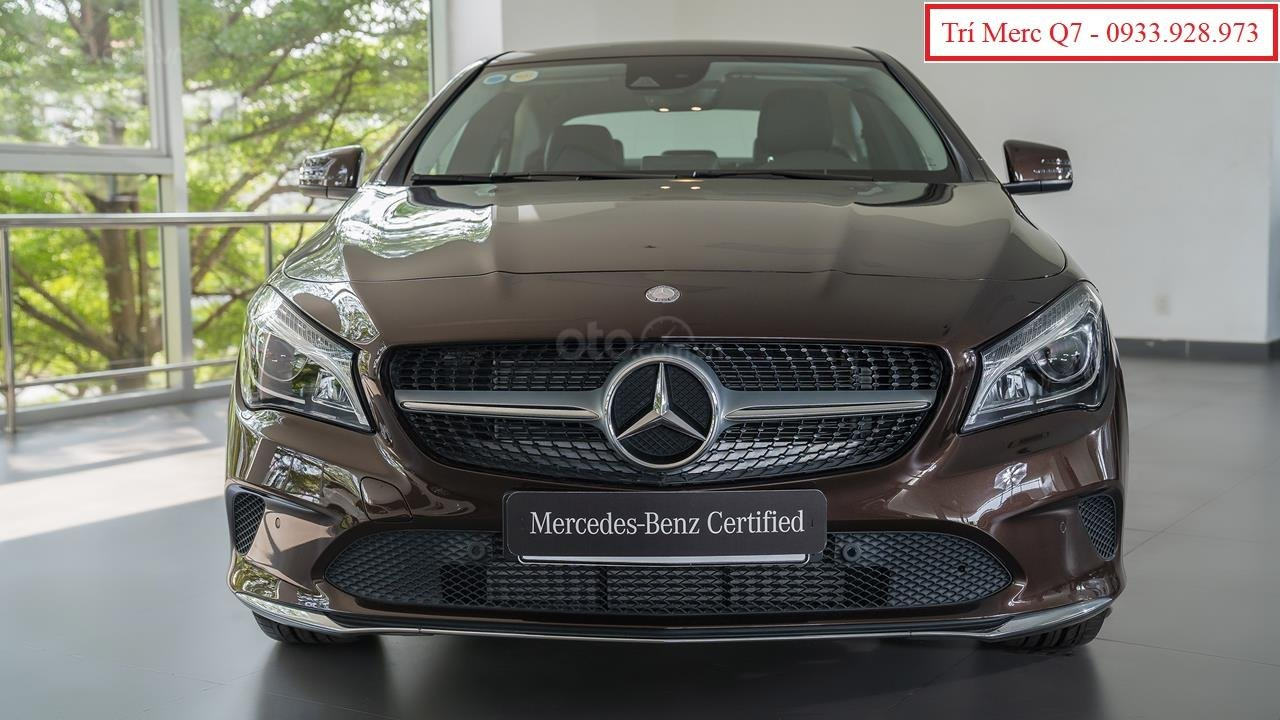 Xe lướt Mercedes-Benz CLA200 cũ 2018, giá tốt nhất Motorshow 2019 (1)