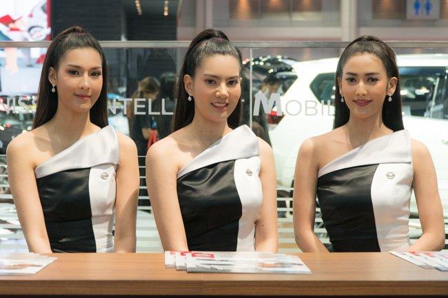 Không chỉ xe, Bangkok Motorshow 2019 còn thu hút khách bởi dàn gái xinh