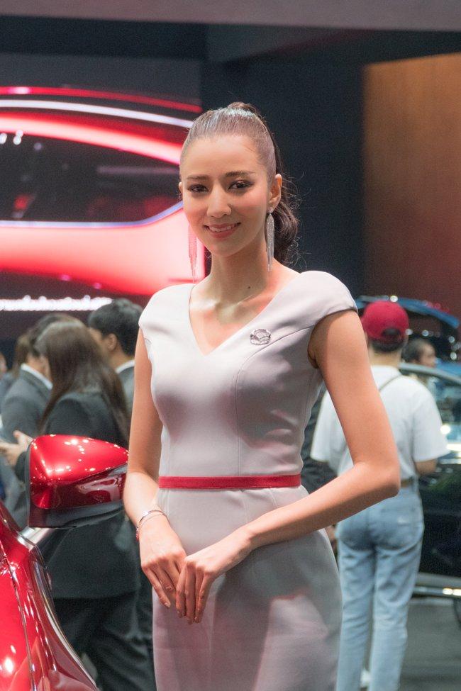 Không chỉ xe, Bangkok Motorshow 2019 còn thu hút khách bởi dàn gái xinh 5aa