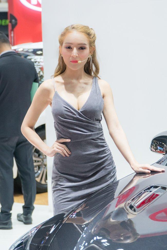 Không chỉ xe, Bangkok Motorshow 2019 còn thu hút khách bởi dàn gái xinh 9aa