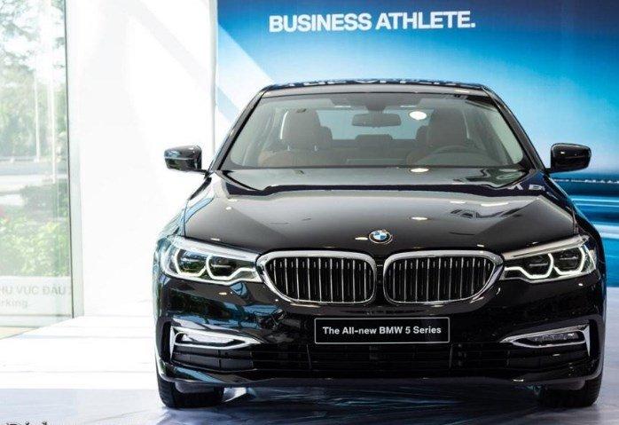 Đầu xe BMW 5-Series 2019.