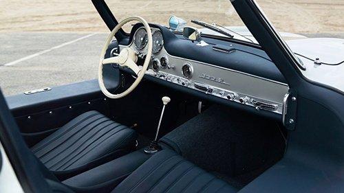 Nội thất Mercedes 300SL