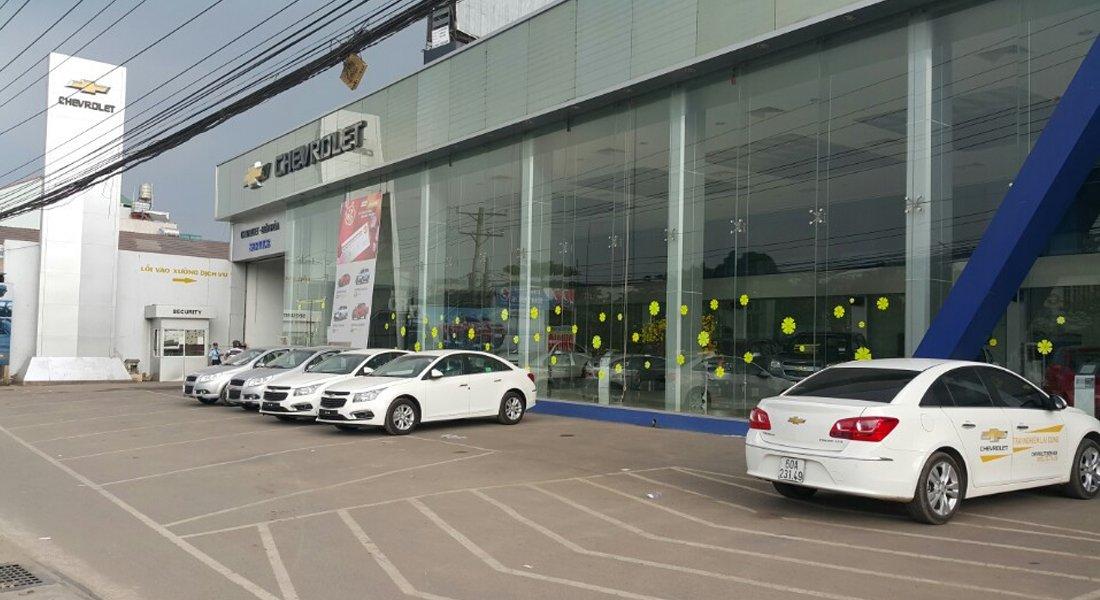 Một đại lý Chevrolet tại Hà Nội trước khi về tay VinFast...