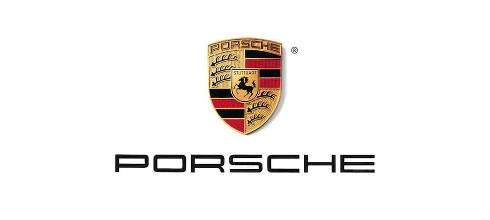 Logo biểu tưởng của hãng xe Porsche