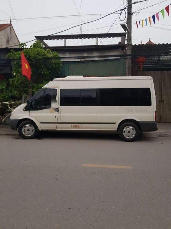 Bán Ford Transit 2011, màu trắng, giá tốt-0
