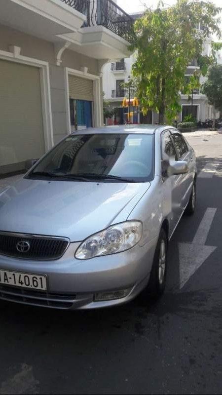 Bán ô tô Toyota Corolla altis 1.8 2002, màu bạc, xe nhập, xe gia đình (2)