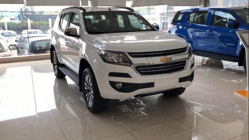 Bán xe Chevrolet Trailblazer sản xuất năm 2019, màu trắng, xe nhập-0