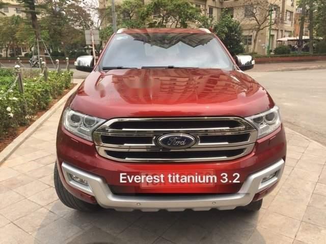 Bán Ford Everest sản xuất 2016, màu đỏ, nhập khẩu (1)