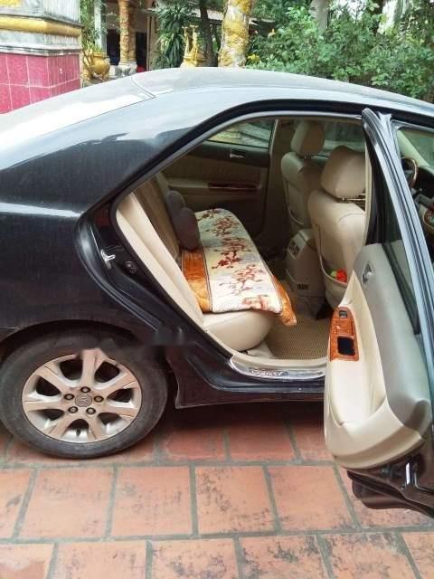 Bán Toyota Camry năm 2004, màu đen, nhập khẩu -1