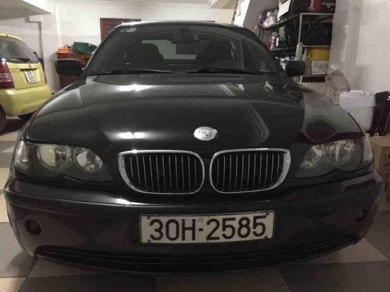 Bán xe BMW 3 Series 2005, màu đen, nhập khẩu nguyên chiếc (1)