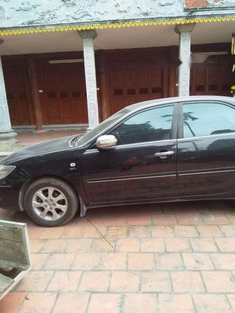 Bán Toyota Camry năm 2004, màu đen, nhập khẩu -0