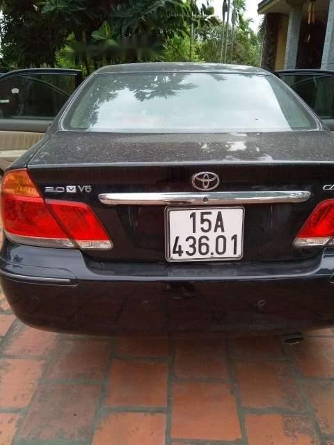 Bán Toyota Camry năm 2004, màu đen, nhập khẩu -5