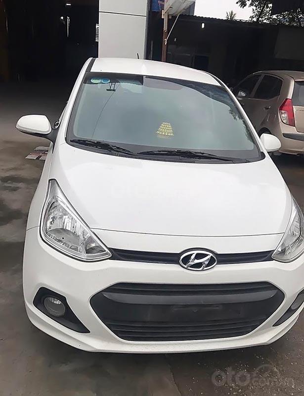 Bán Hyundai Grand i10 2016, màu trắng, nhập khẩu -0