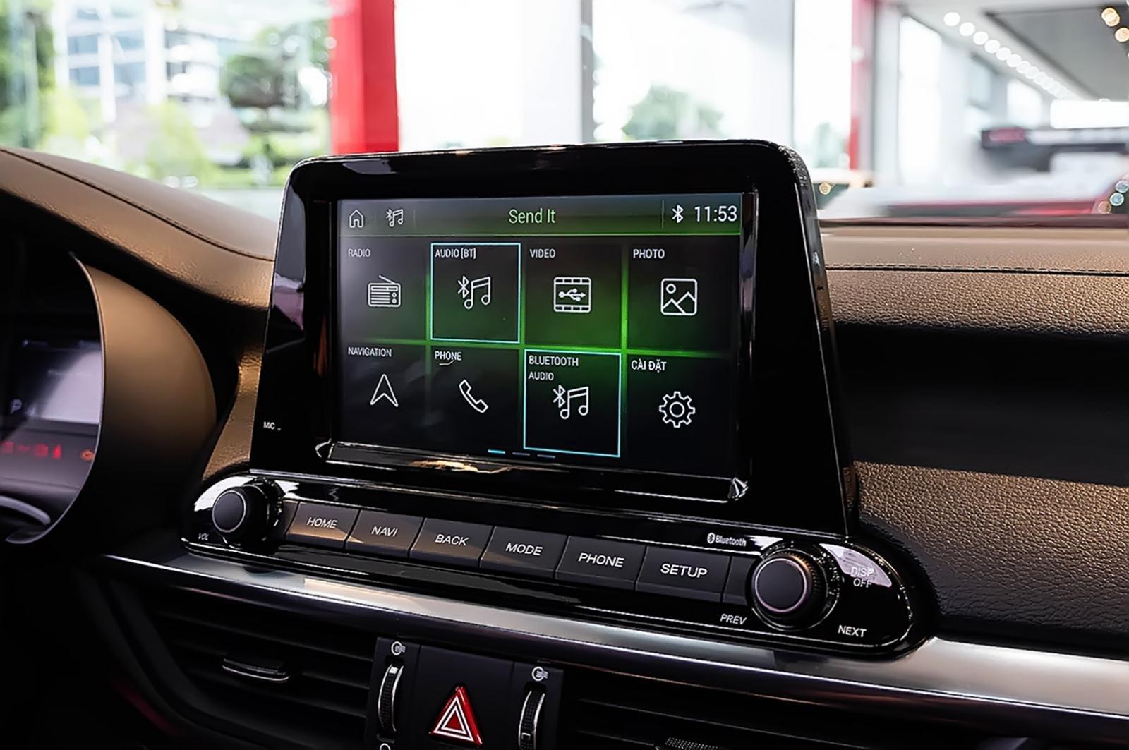 So sánh Honda City 2019 và Kia Cerato 2019 về trang bị tiện nghi.