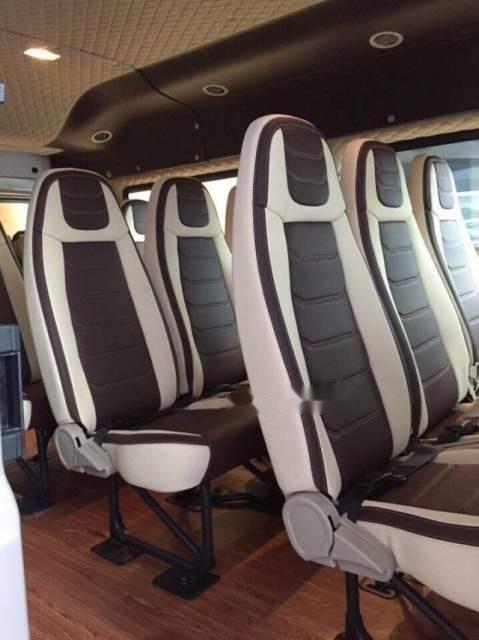 Bán xe Ford Transit 2019, màu bạc-2