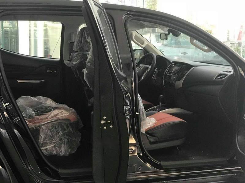 Bán xe Mitsubishi Triton Athlete 4x2 AT năm 2018, màu đen, nhập khẩu Thái Lan-3