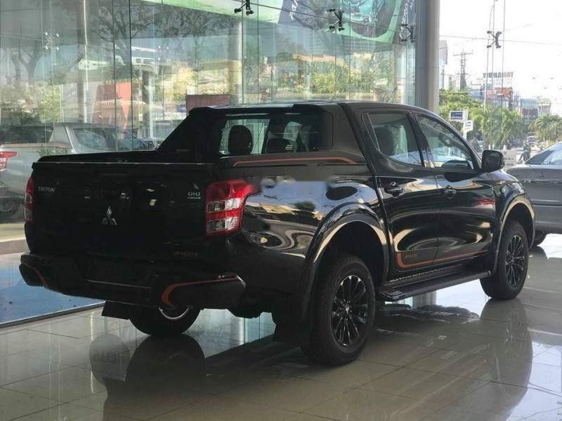 Bán xe Mitsubishi Triton Athlete 4x2 AT năm 2018, màu đen, nhập khẩu Thái Lan-1