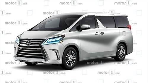 Lexus sắp sản xuất MPV giống Toyota Alphard? 3