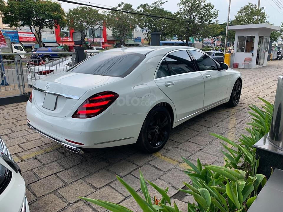 Bán xe Mercedes S450 trắng nội thất nâu model 2019 chính hãng-11