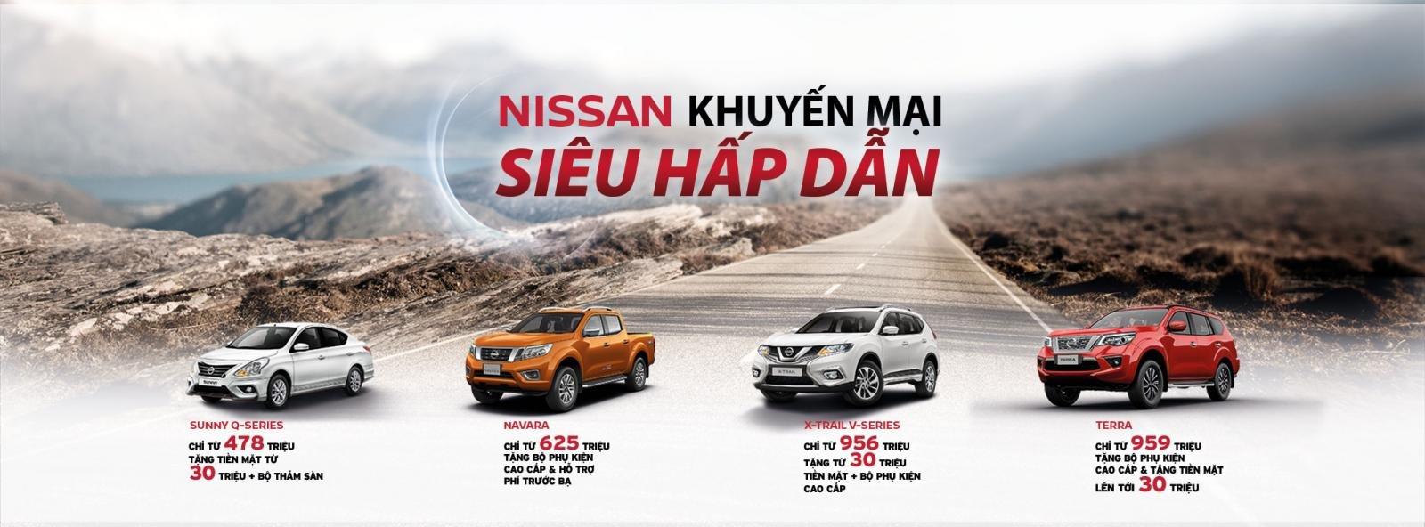 Nissan Việt Nam khuyến mại đồng loạt cao nhất 30 triệu đồng a1