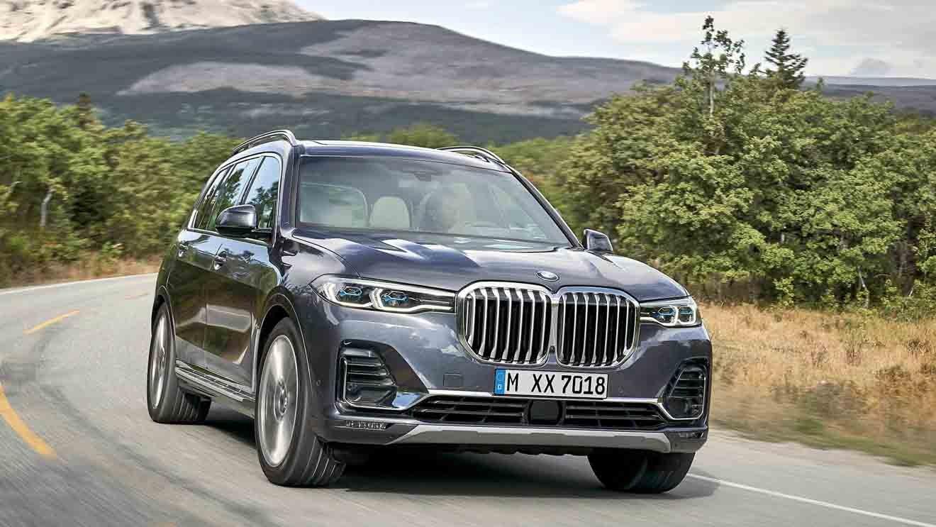 BMW X7 2019 thiết kế ngoại thất