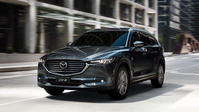 Mazda CX-8 2019 thiết kế ngoại thất