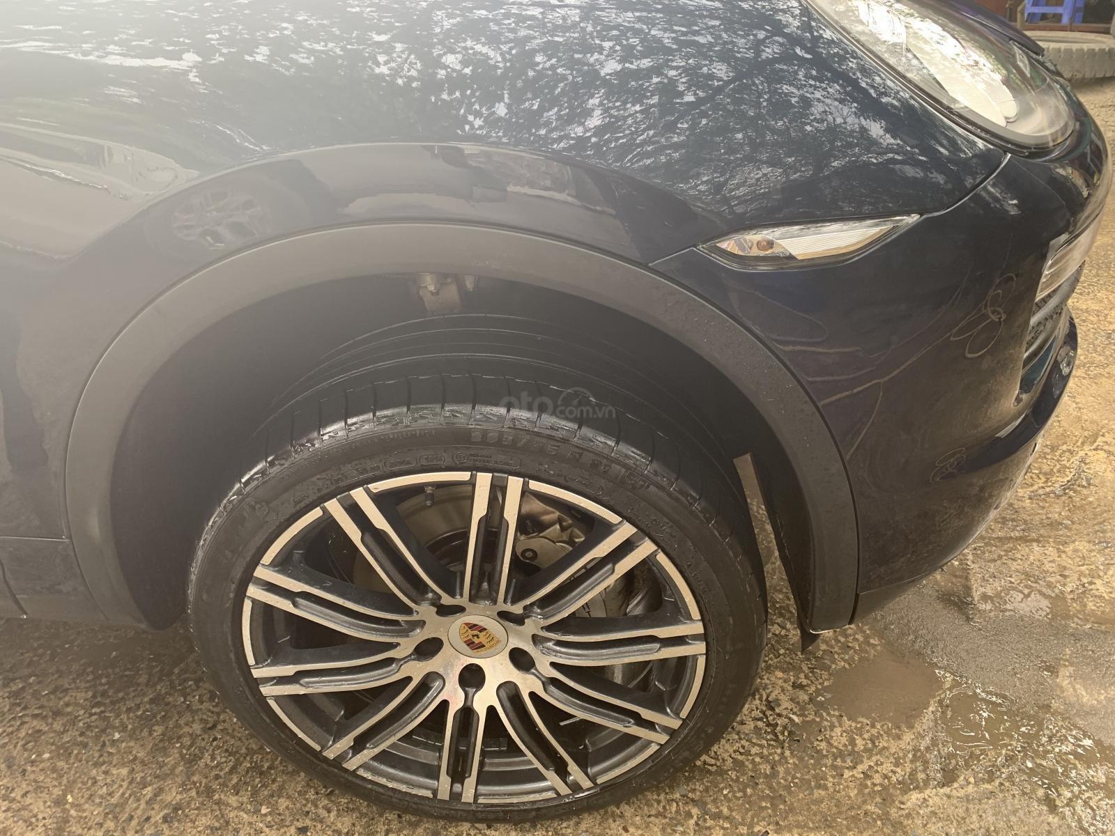 Cần bán gấp Porsche Cayenne S đời 2012, màu xanh lam, nhập khẩu nguyên chiếc số tự động-5