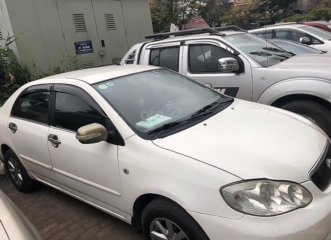 Bán Toyota Corolla altis 1.8 G năm 2002, màu trắng, xe nhập -1