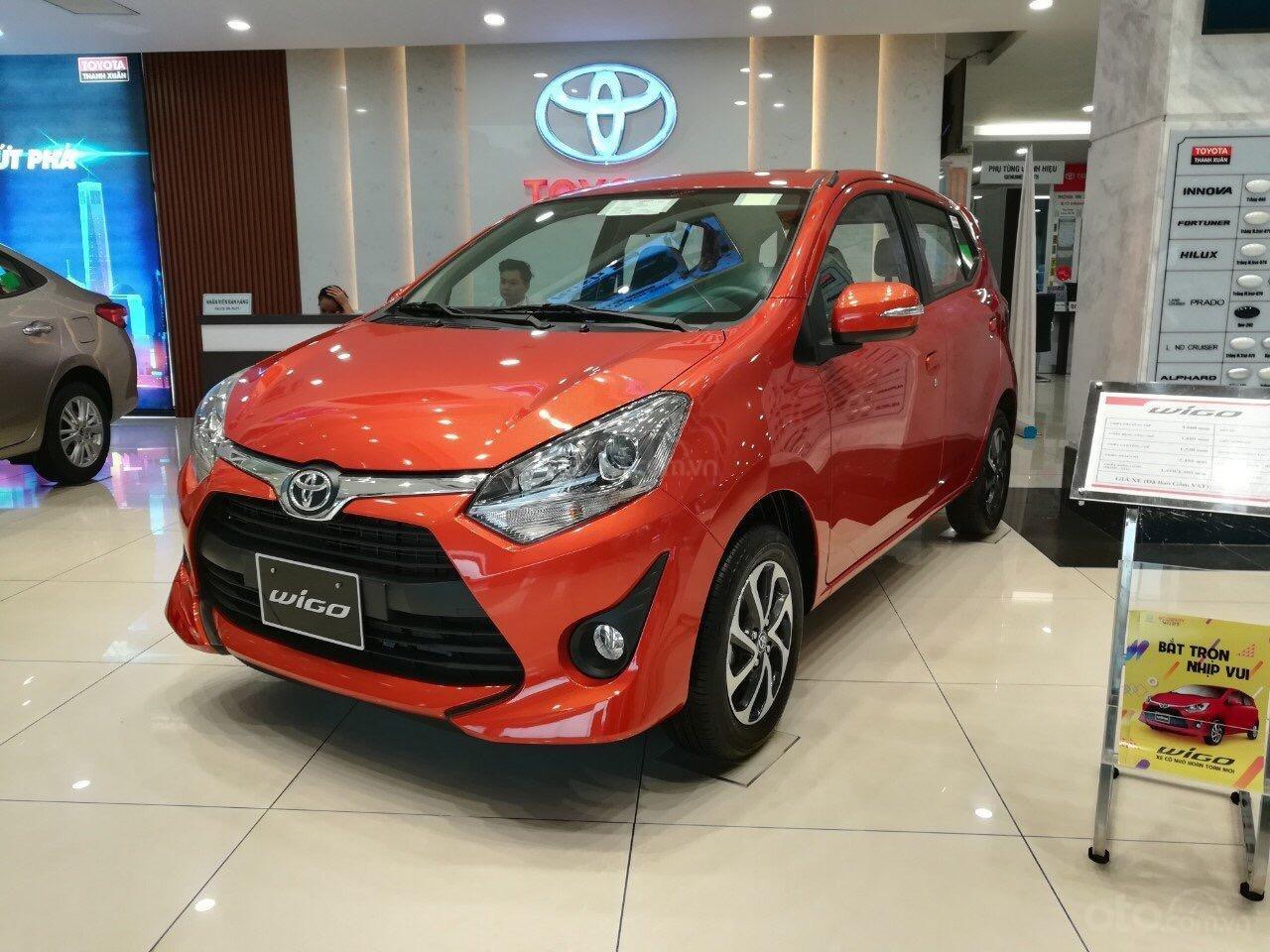 Bán Toyota Wigo 1.2AT SX 2019, nhập khẩu nguyên chiếc, xe giao ngay, hỗ trợ trả góp 85%-0