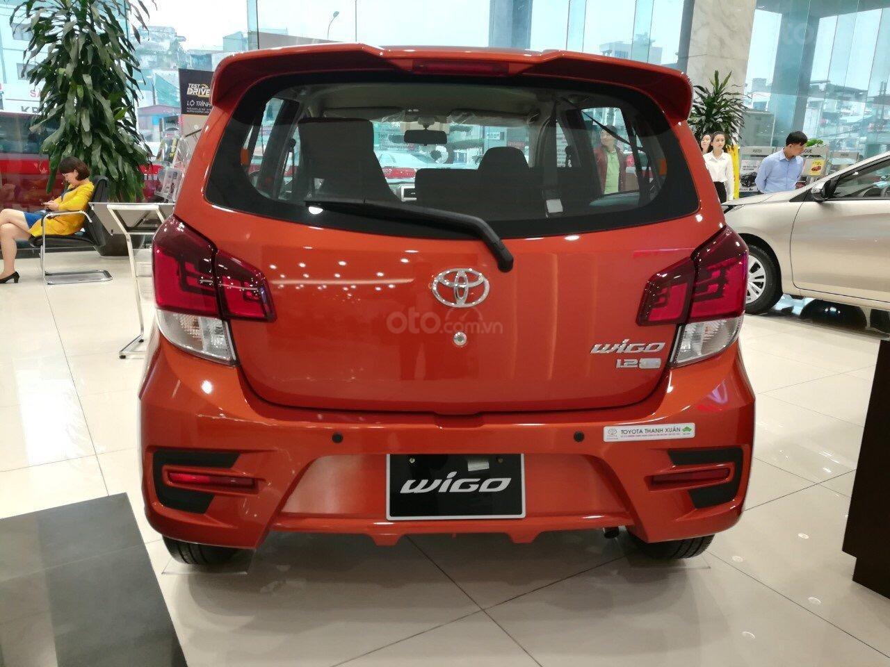 Bán Toyota Wigo 1.2AT SX 2019, nhập khẩu nguyên chiếc, xe giao ngay, hỗ trợ trả góp 85%-2