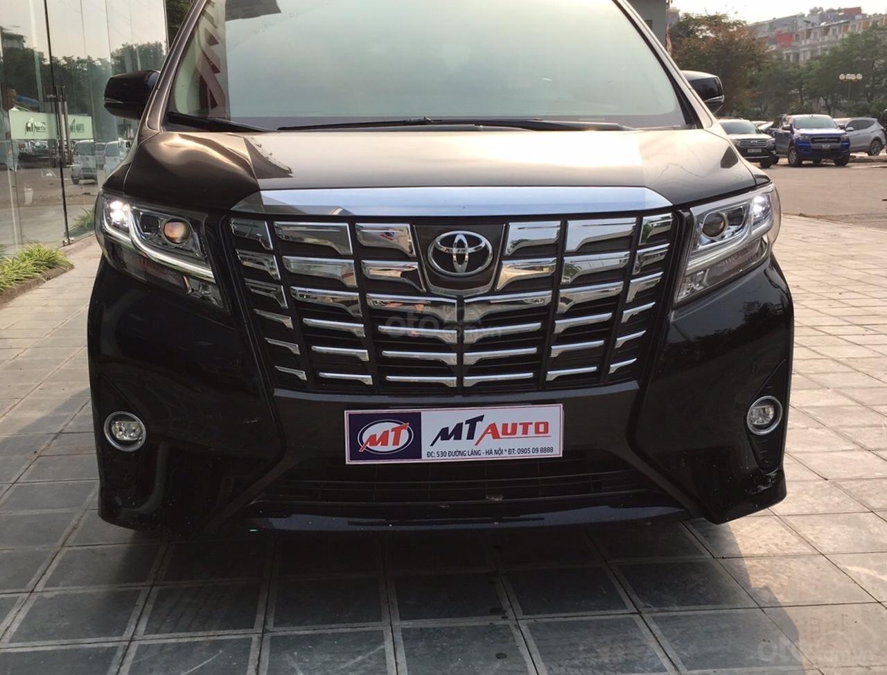 Bán xe Toyota Alphard Excutive Lou 2017, màu đen, nhập khẩu. LH em Hương 0945392468 (1)