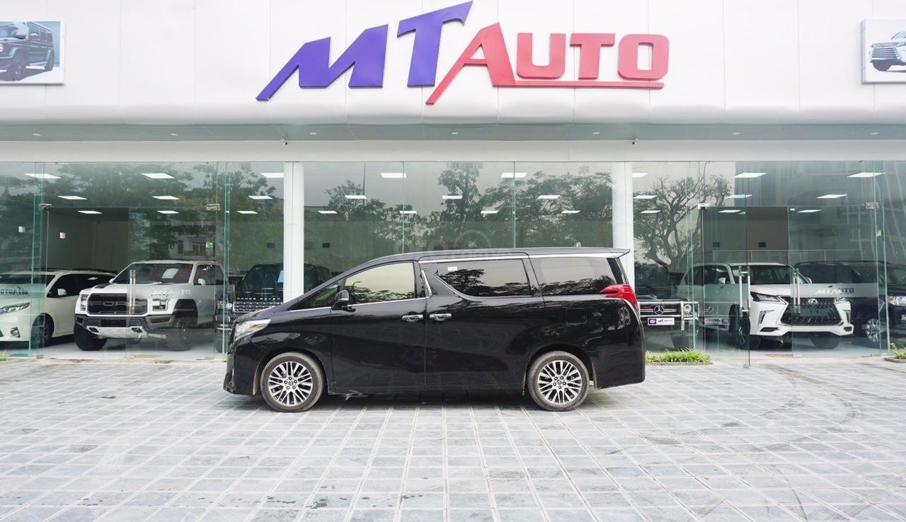 Bán xe Toyota Alphard Excutive Lou 2017, màu đen, nhập khẩu. LH em Hương 0945392468 (5)