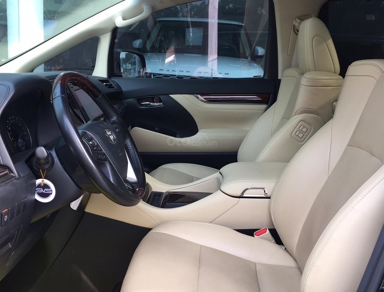 Bán xe Toyota Alphard Excutive Lou 2017, màu đen, nhập khẩu. LH em Hương 0945392468 (8)