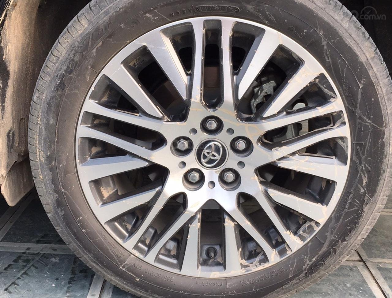 Bán xe Toyota Alphard Excutive Lou 2017, màu đen, nhập khẩu. LH em Hương 0945392468 (13)