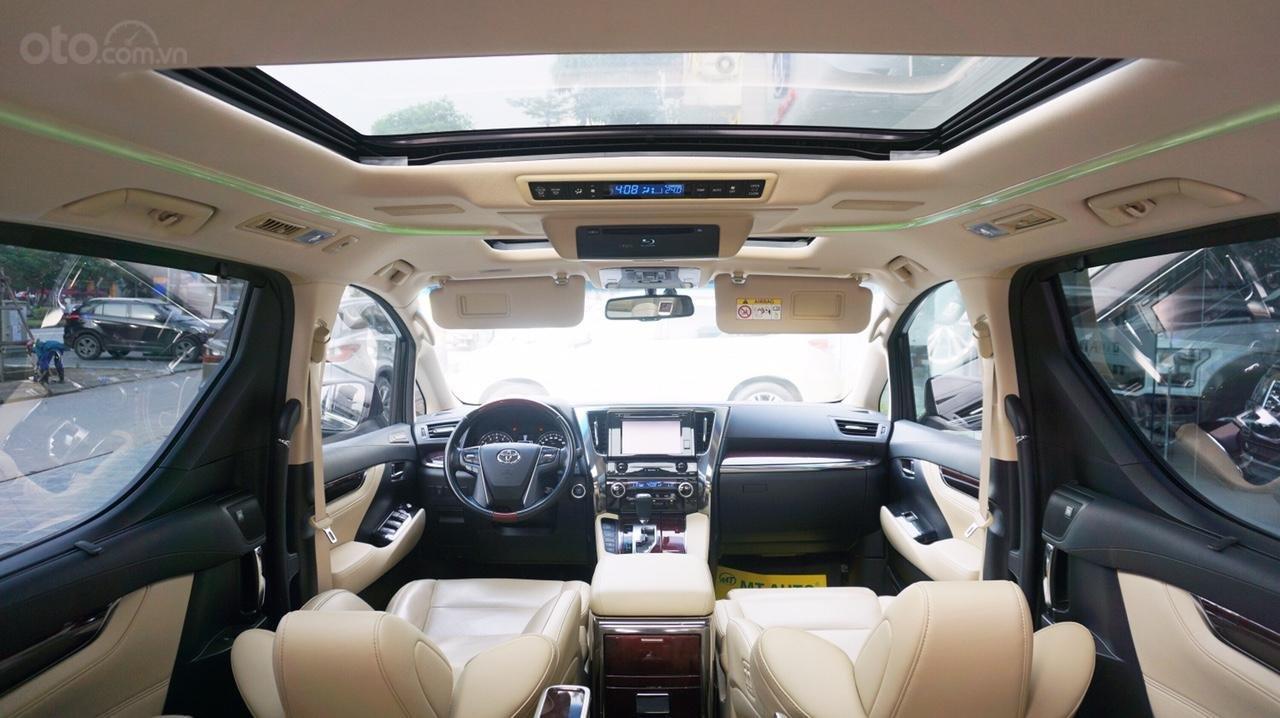 Bán xe Toyota Alphard Excutive Lou 2017, màu đen, nhập khẩu. LH em Hương 0945392468 (11)