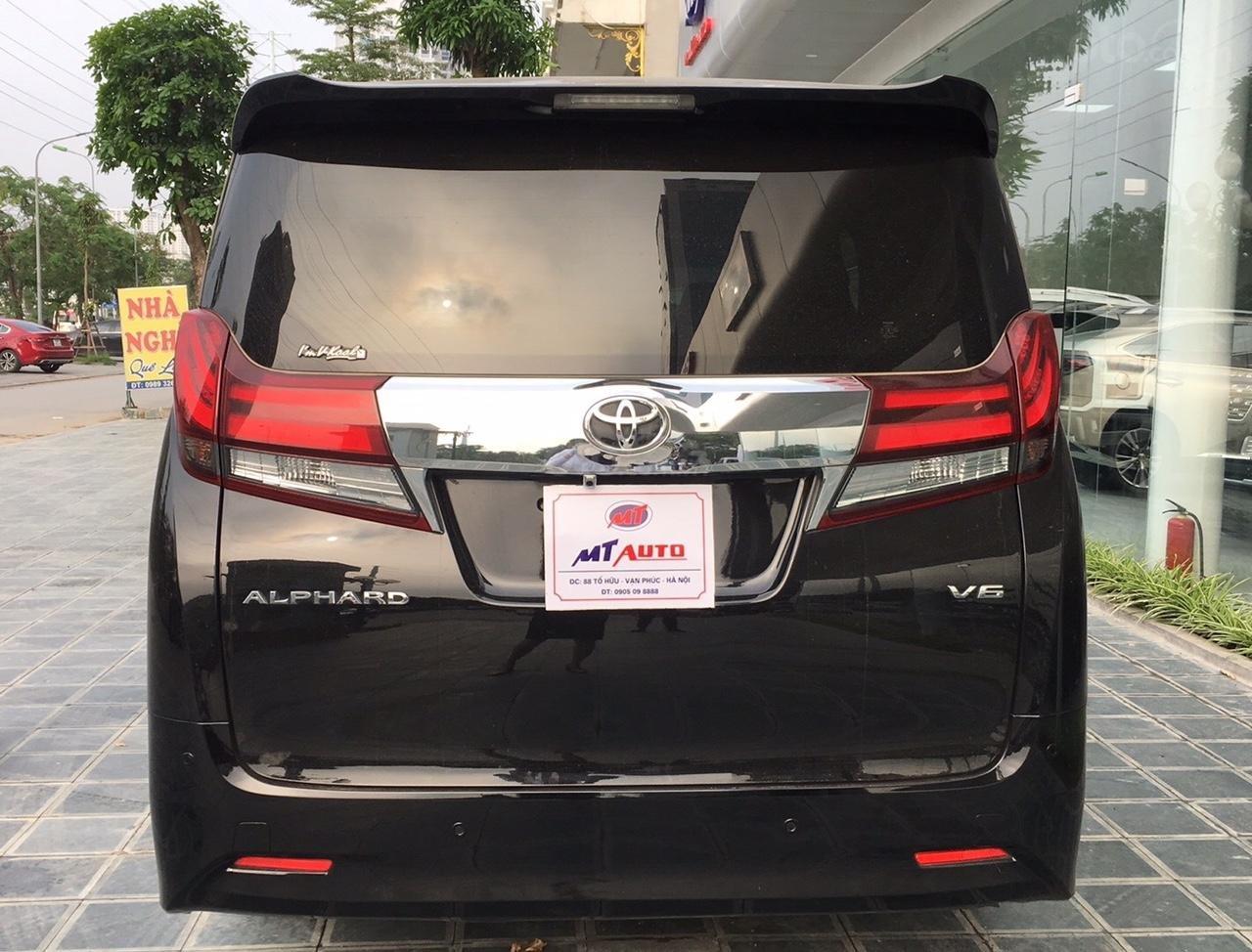 Bán xe Toyota Alphard Excutive Lou 2017, màu đen, nhập khẩu. LH em Hương 0945392468 (6)