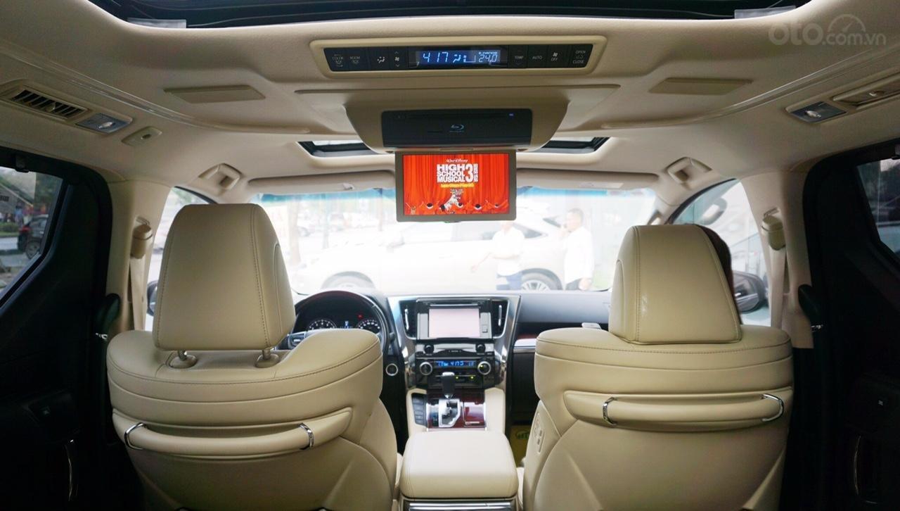 Bán xe Toyota Alphard Excutive Lou 2017, màu đen, nhập khẩu. LH em Hương 0945392468 (19)