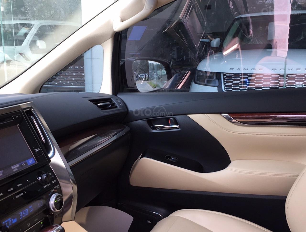 Bán xe Toyota Alphard Excutive Lou 2017, màu đen, nhập khẩu. LH em Hương 0945392468 (23)
