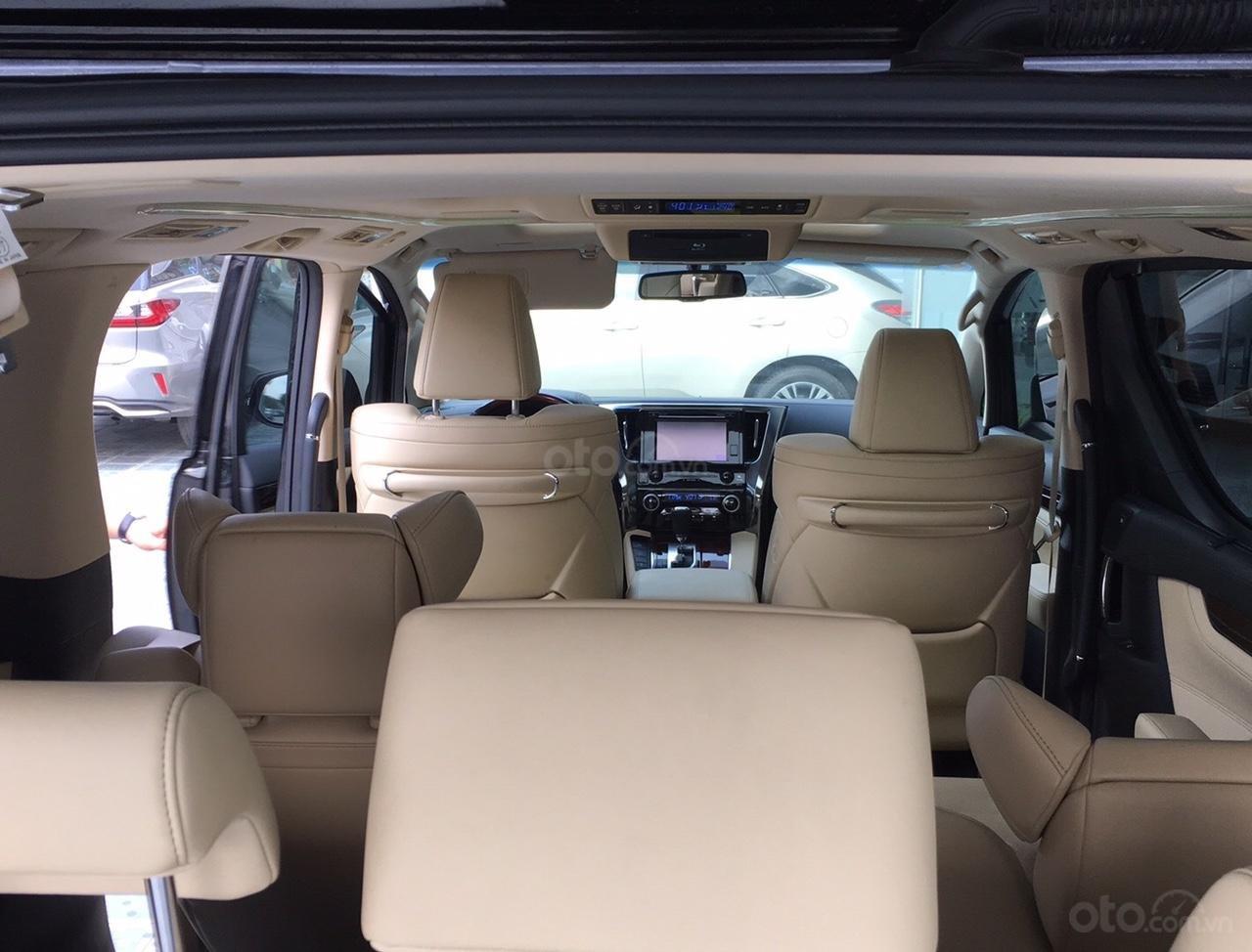 Bán xe Toyota Alphard Excutive Lou 2017, màu đen, nhập khẩu. LH em Hương 0945392468 (22)