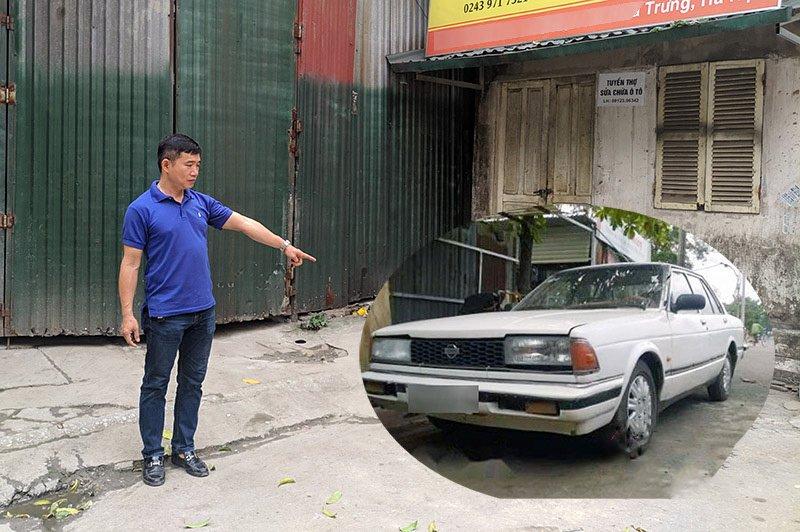 """Đắng lòng ông chủ gara bị khách """"bỏ rơi"""" chiếc Nissan cũ quay lại bắt đền 100 triệu 3aa"""