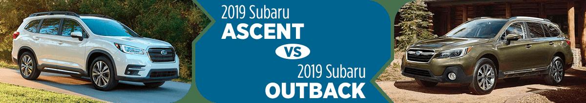 Chọn Subaru Outback 2019 hay Subaru Ascent 2019: Chiến mã đấu tượng binh